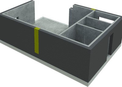 Doplnění tepelné izolace mezi panely
