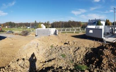 Aktuálně z Těrlicka: Přízemí hotovo za 6 hodin