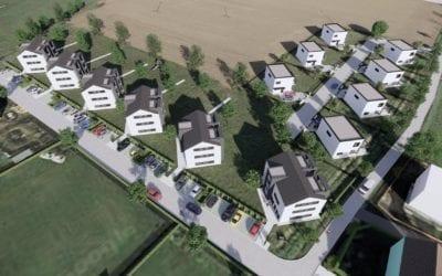 Zahájili jsme prodej pasivních domů v Dolních Tošanovicích