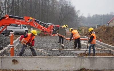 Výstavba v Těrlicku: Do konce roku bude několik domů pod střechou!