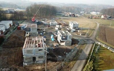 Výstavba v Těrlicku: Všechny domy v pohybu
