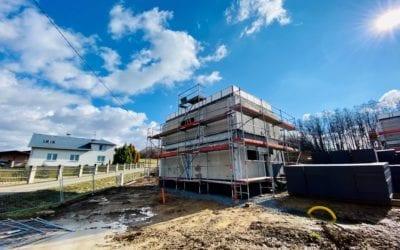 Výstavba v Těrlicku: Výstavba výrazně pokročila